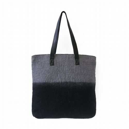 Felt Bag - Black/Grey